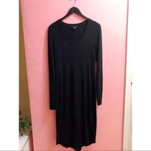 Aritzia Perfect Wool Vee Dress